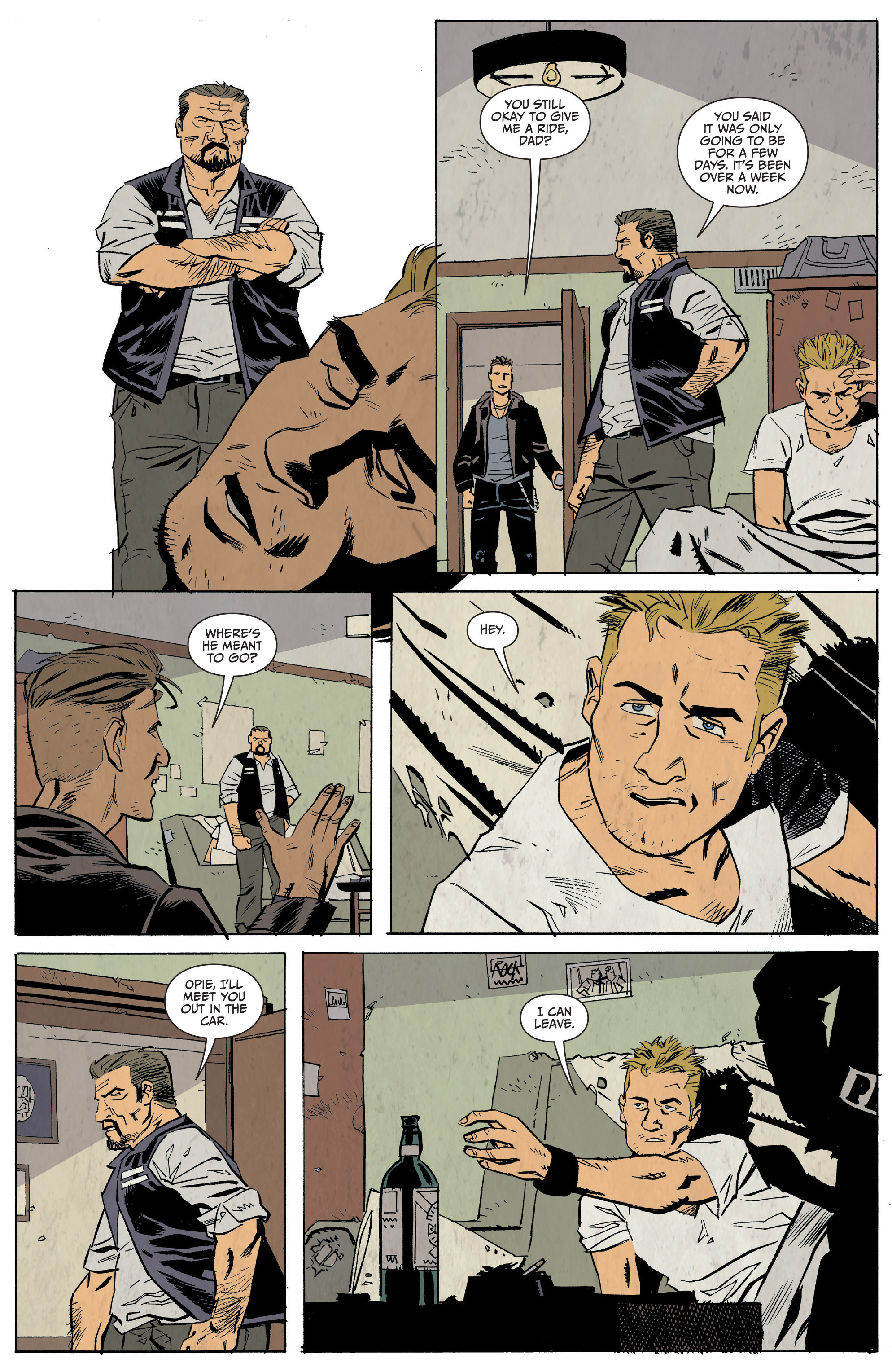 Read online Sons of Anarchy: Redwood Original comic -  Issue #5 - 6