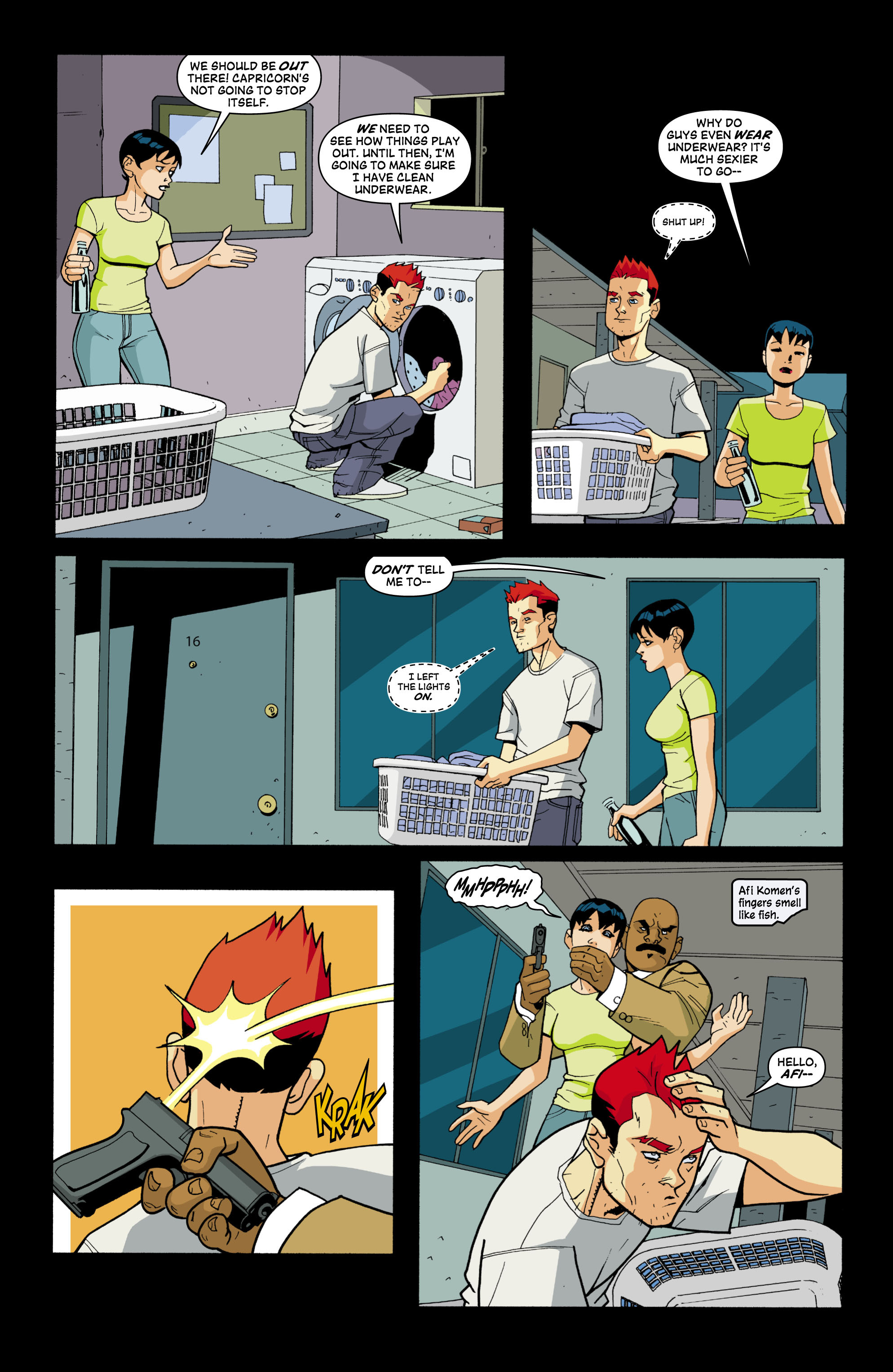 Read online Red Herring comic -  Issue #3 - 10