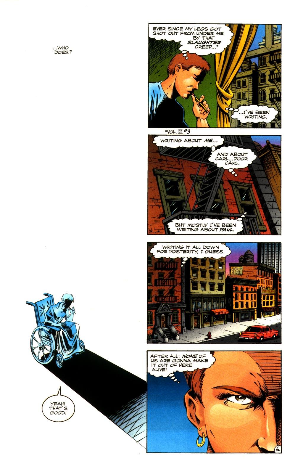 Read online ShadowHawk comic -  Issue #8 - 6