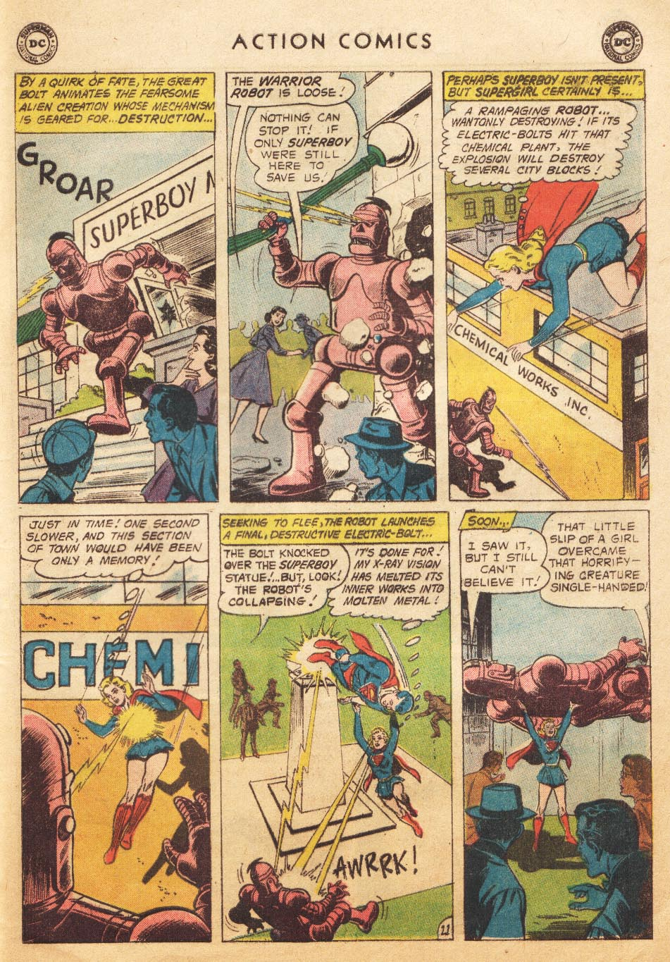 Read online Action Comics (1938) comic -  Issue #265 - 29
