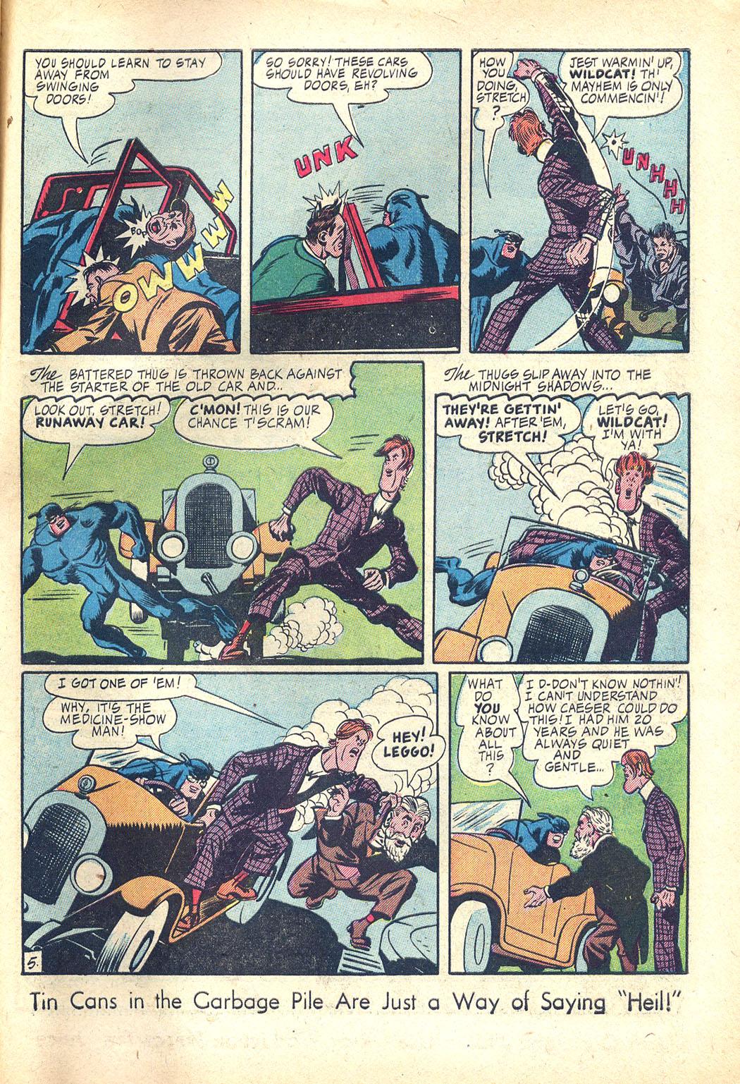 Read online Sensation (Mystery) Comics comic -  Issue #34 - 45