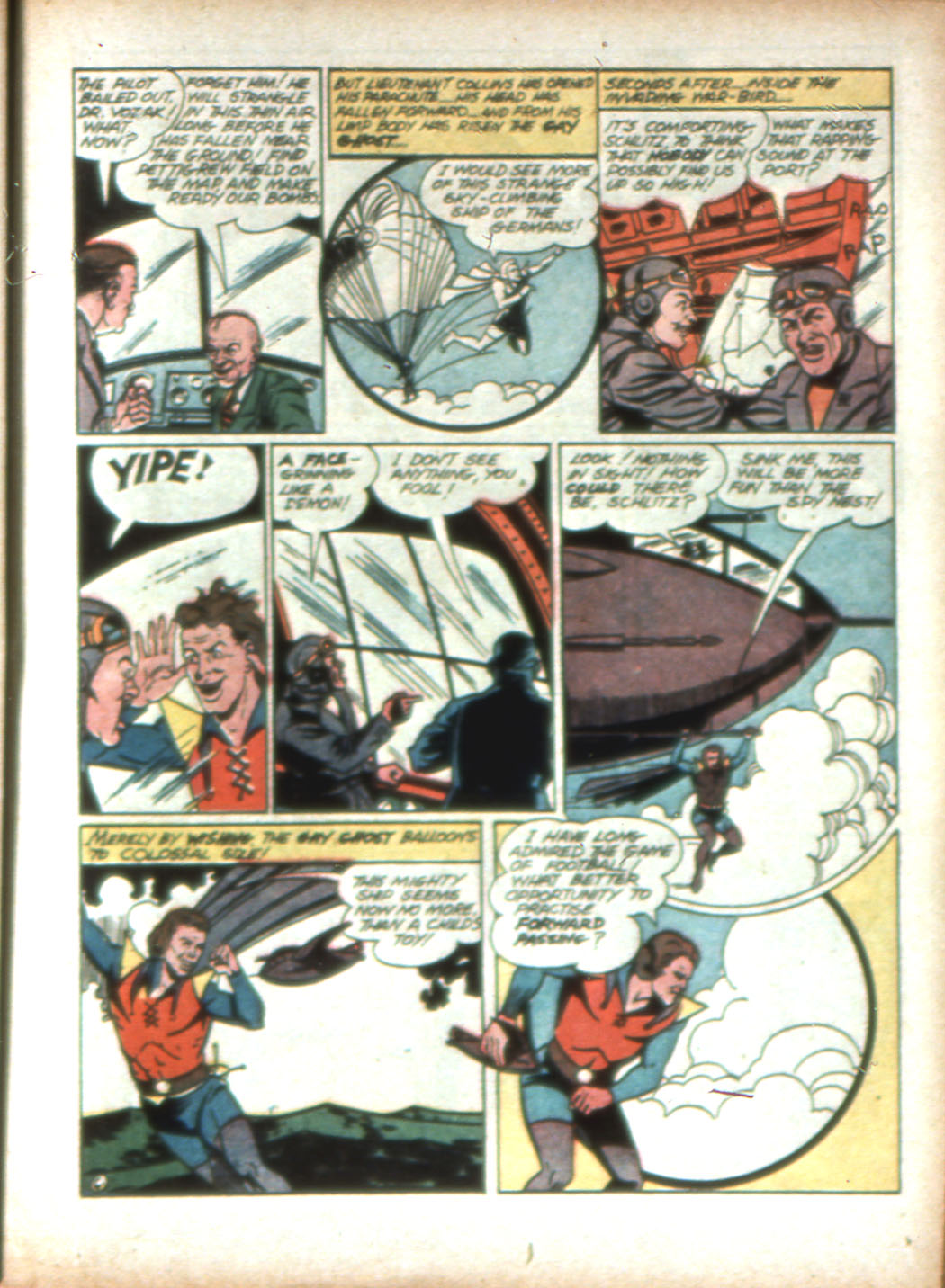 Read online Sensation (Mystery) Comics comic -  Issue #16 - 31