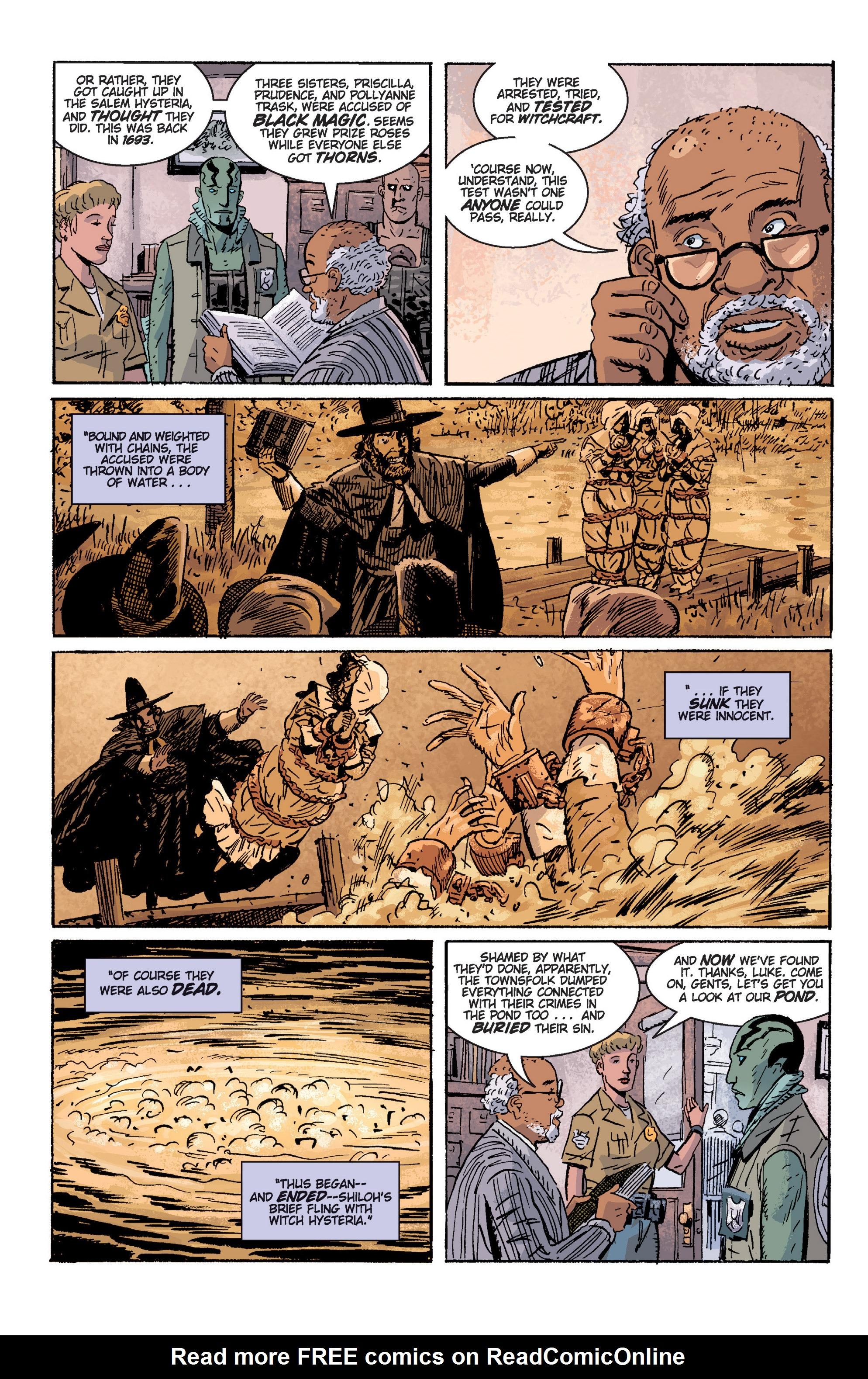 Read online B.P.R.D. (2003) comic -  Issue # TPB 2 - 42