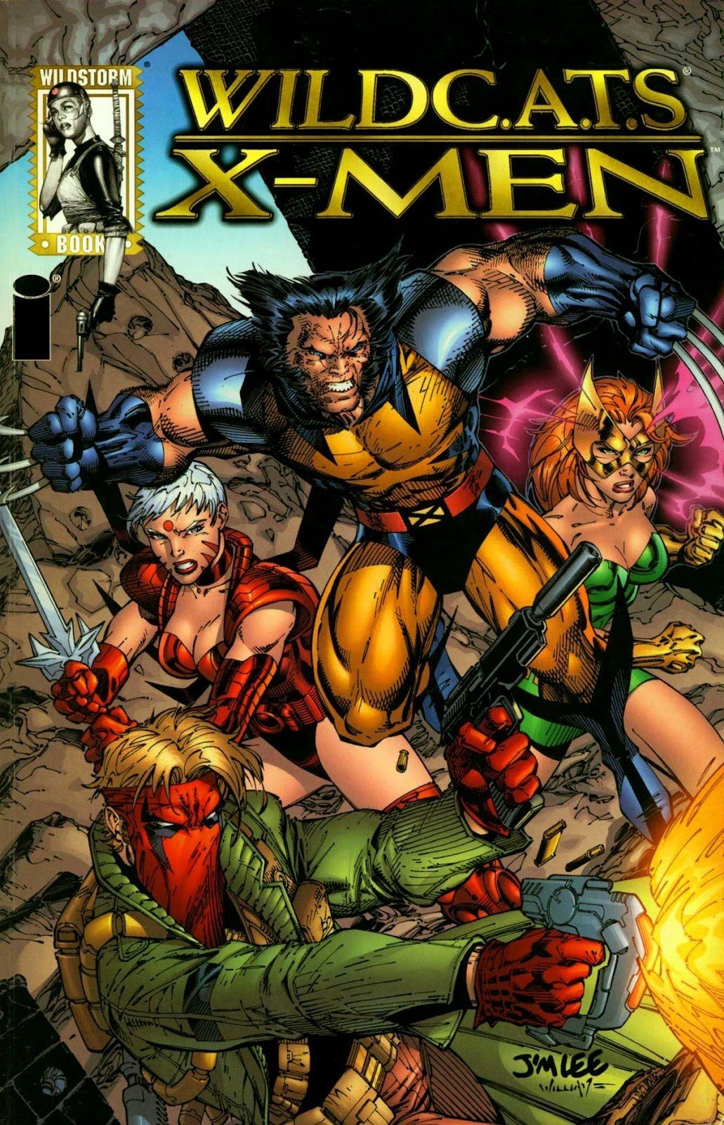 WildC.A.T.s/X-Men issue TPB - Page 1