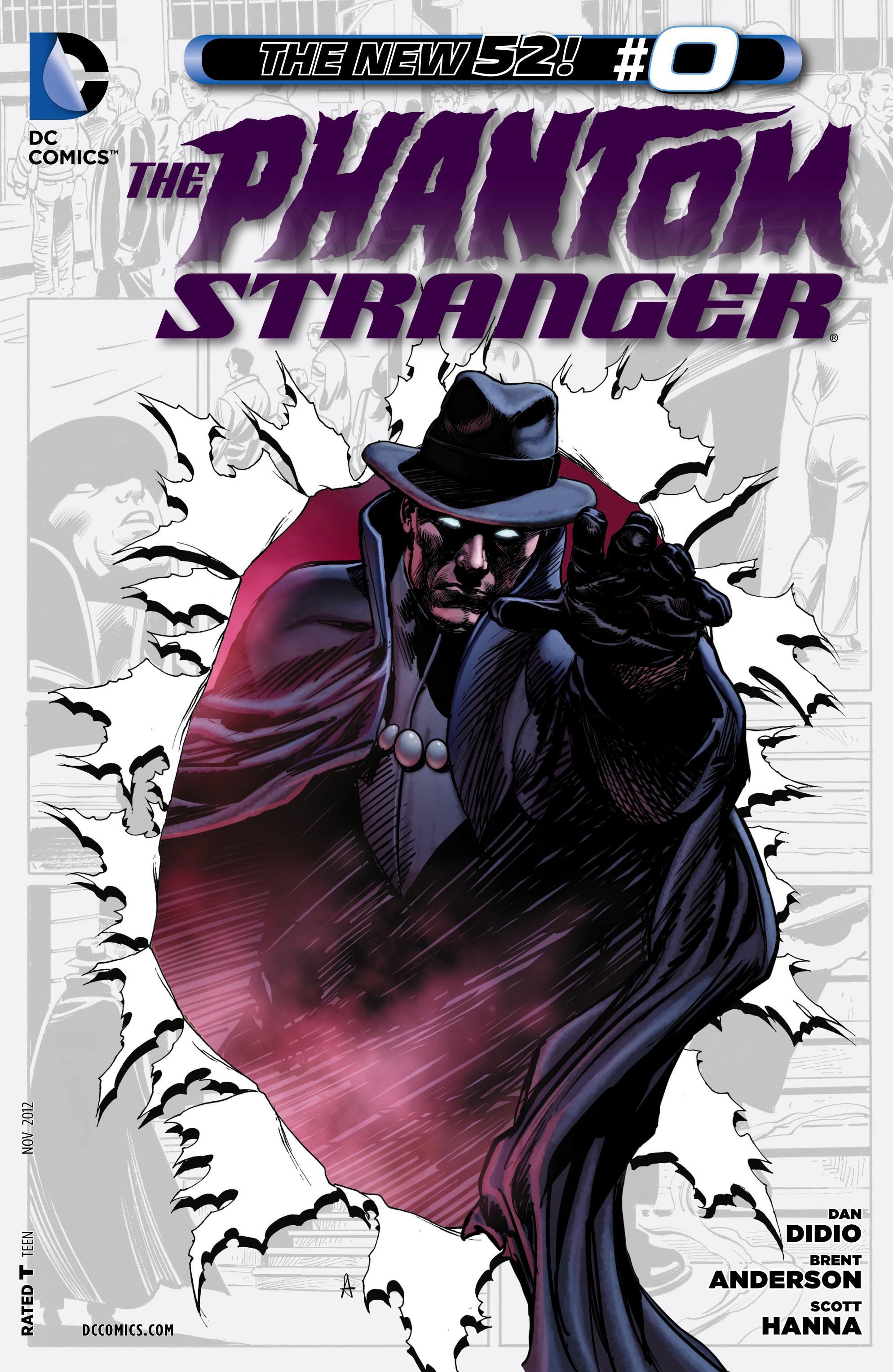 Read online Trinity of Sin: The Phantom Stranger comic -  Issue #0 - 1
