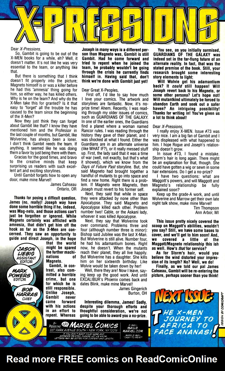 X-Men (1991) 76 Page 24