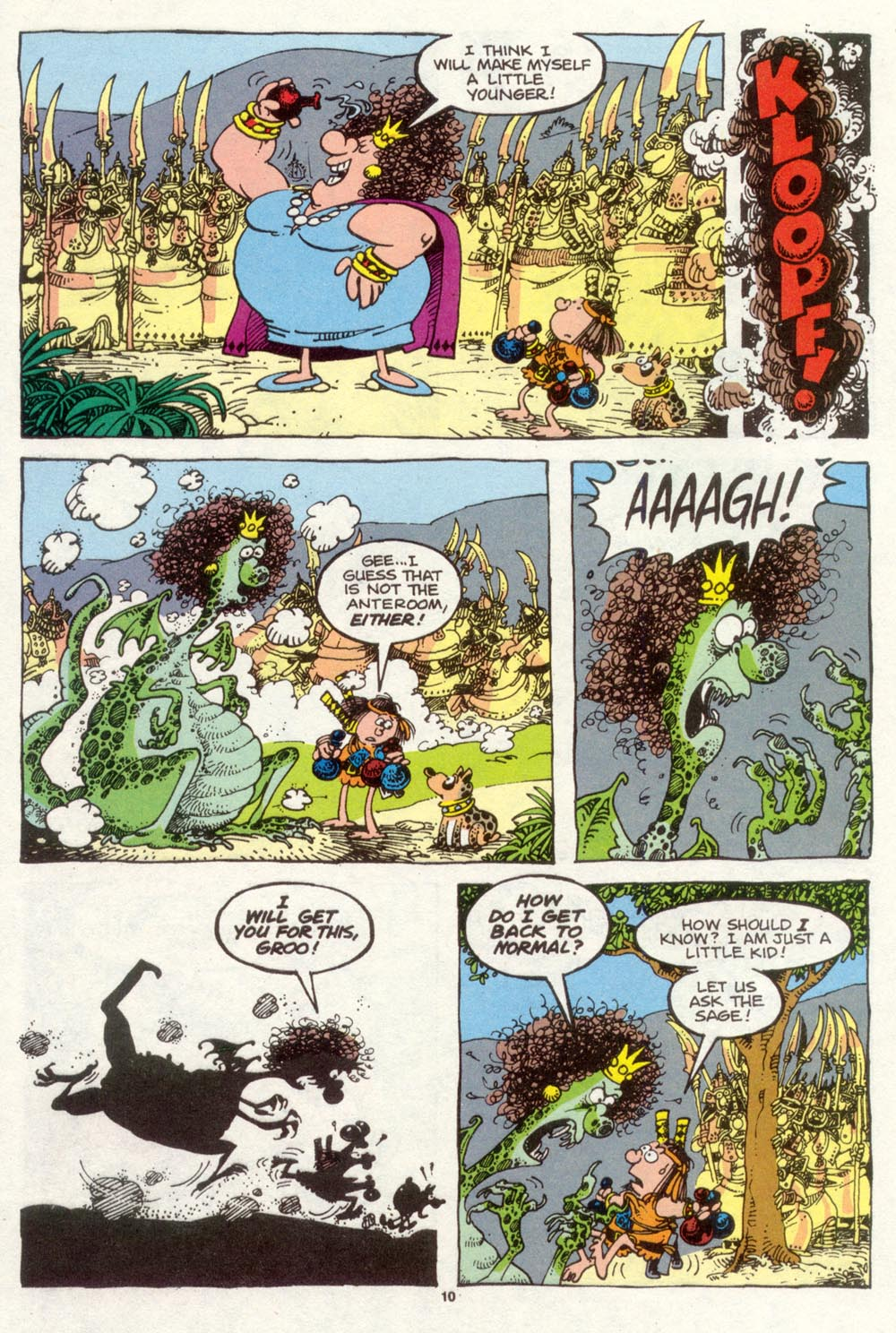 Read online Sergio Aragonés Groo the Wanderer comic -  Issue #93 - 11