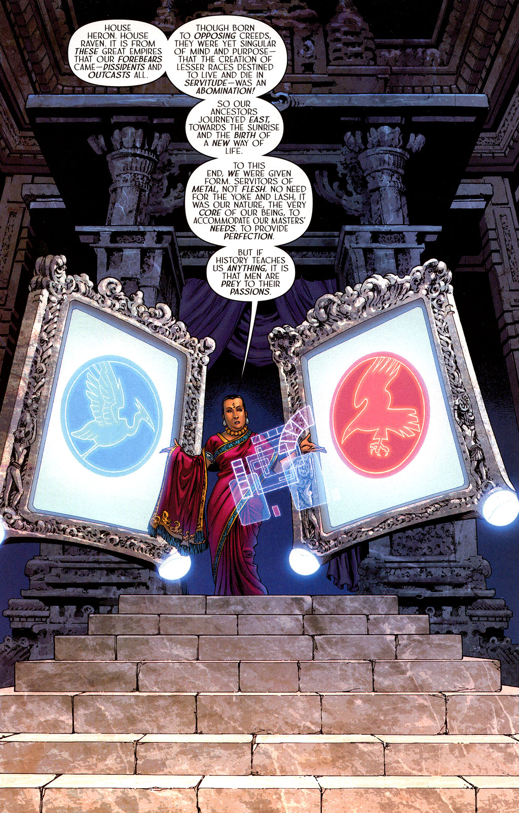 Read online Scion comic -  Issue #40 - 3