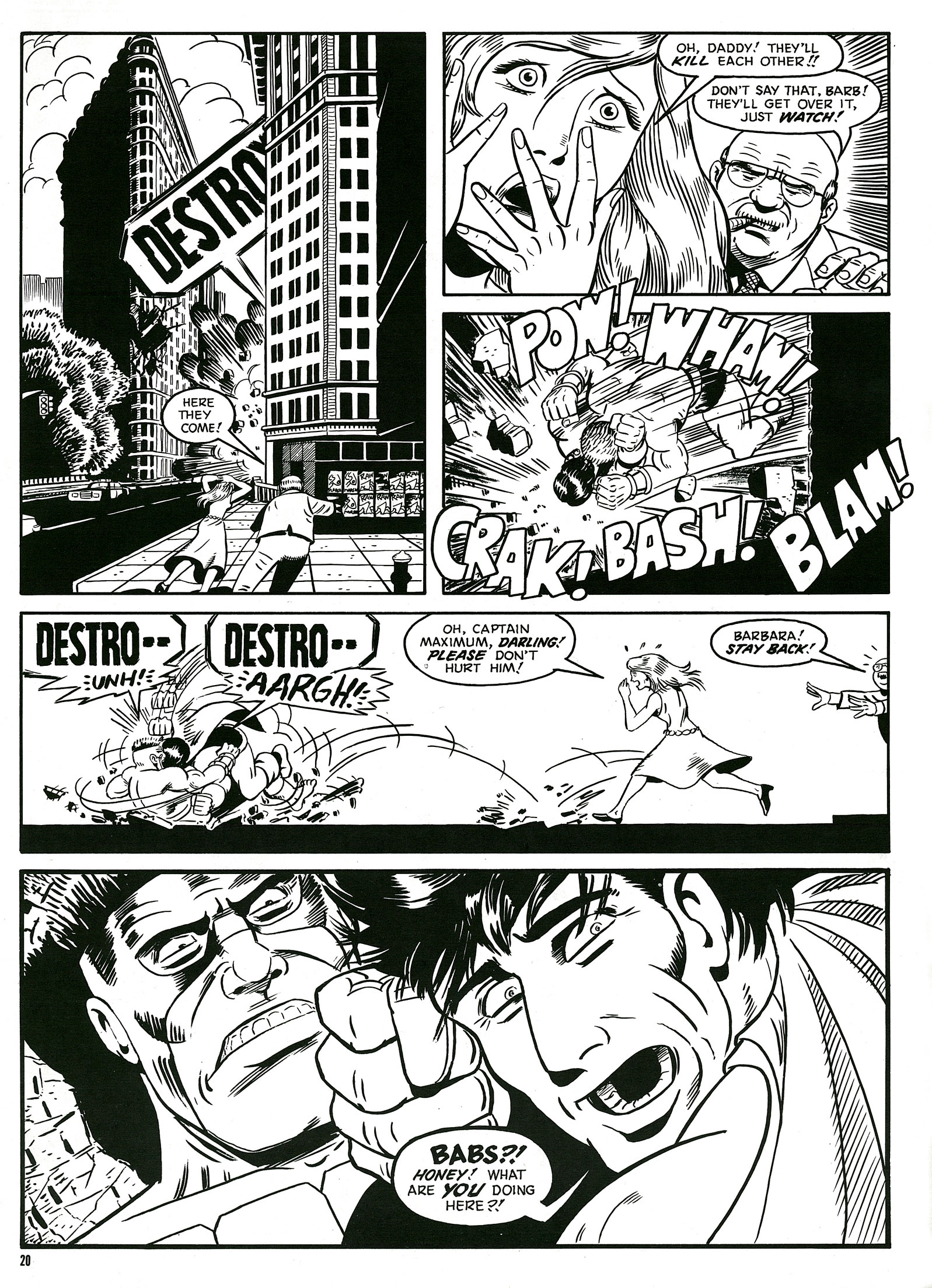Read online Destroy!! comic -  Issue # Full - 22