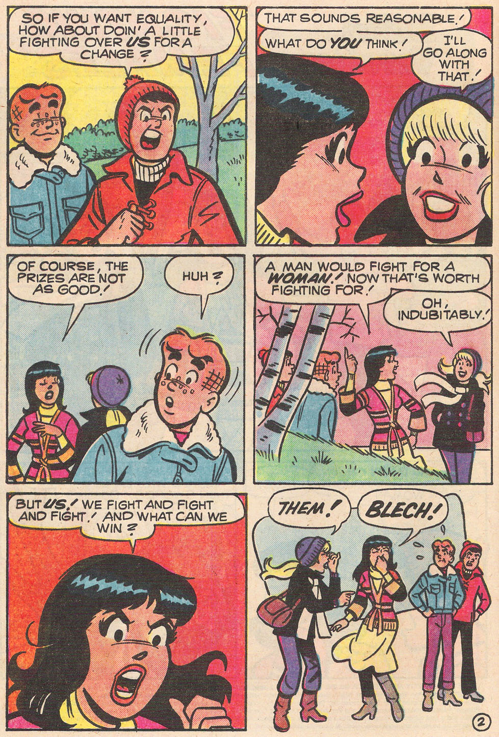 Read online Archie's Girls Betty and Veronica comic -  Issue #255 - 4