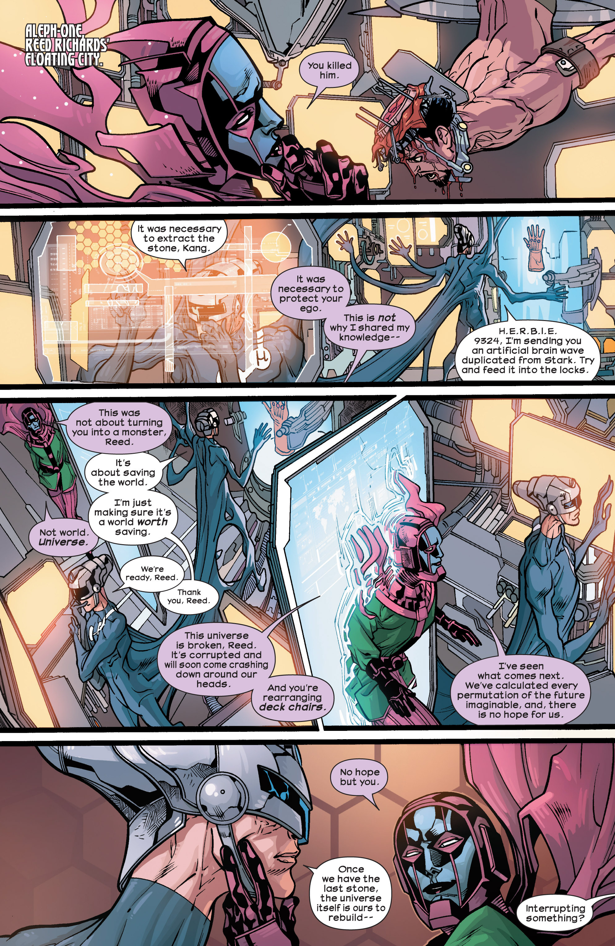 Read online Ultimate Comics Ultimates comic -  Issue #28 - 10