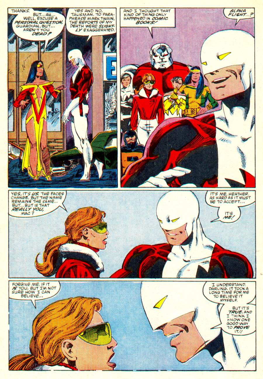 Read online Alpha Flight (1983) comic -  Issue #25 - 11