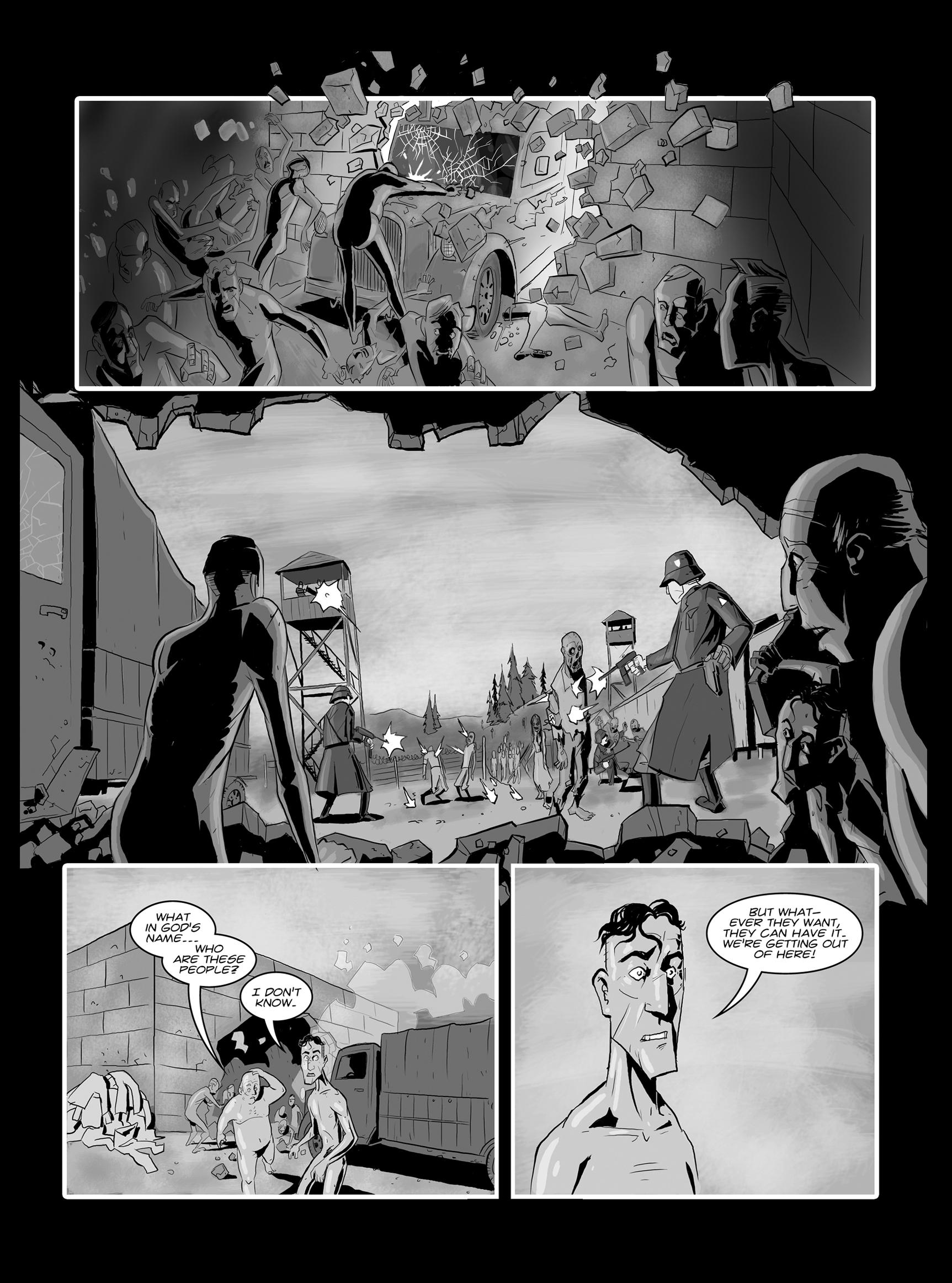 Read online FUBAR comic -  Issue #1 - 15