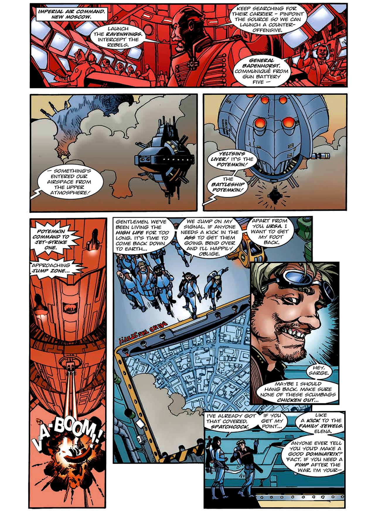 Read online Nikolai Dante comic -  Issue # TPB 4 - 127
