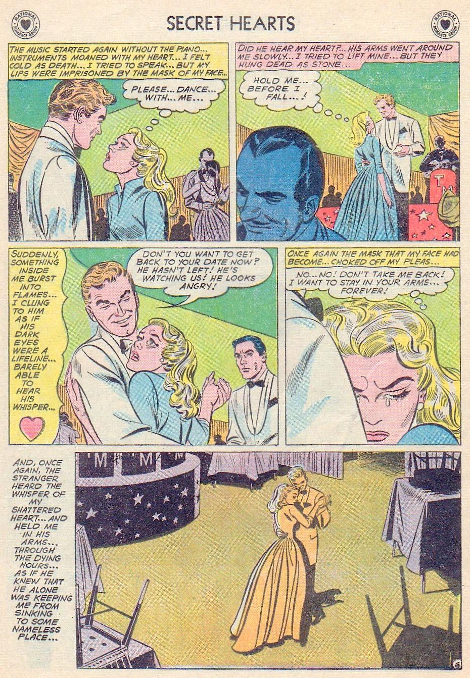 Read online Secret Hearts comic -  Issue #72 - 32