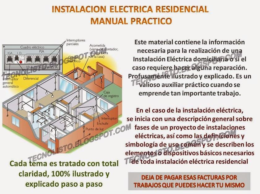 """""""manual Instalacion electrica residencial"""""""