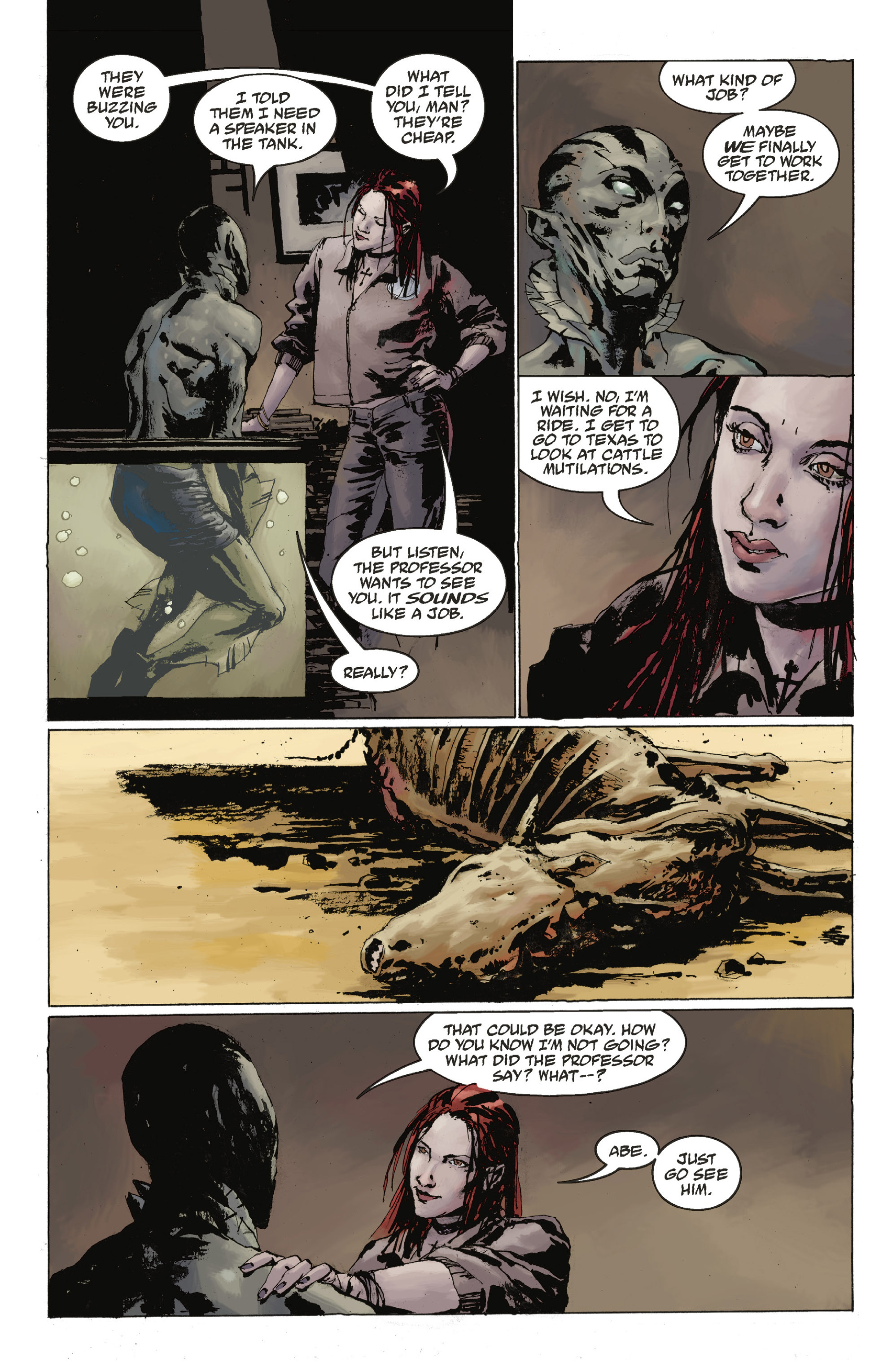 Read online Abe Sapien: The Drowning comic -  Issue #Abe Sapien: The Drowning _TPB - 21