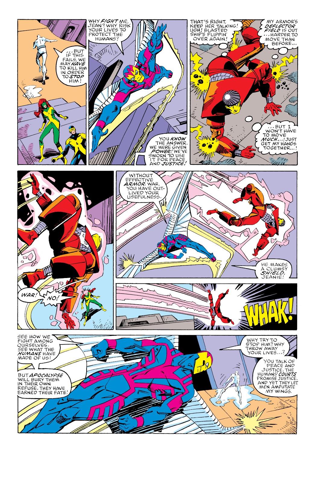 Read online X-Men Milestones: Fall of the Mutants comic -  Issue # TPB (Part 3) - 33