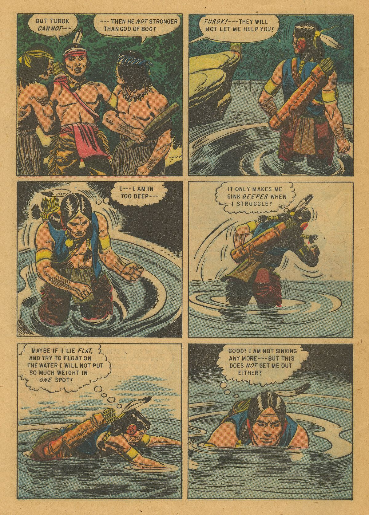 Read online Turok, Son of Stone comic -  Issue #10 - 28