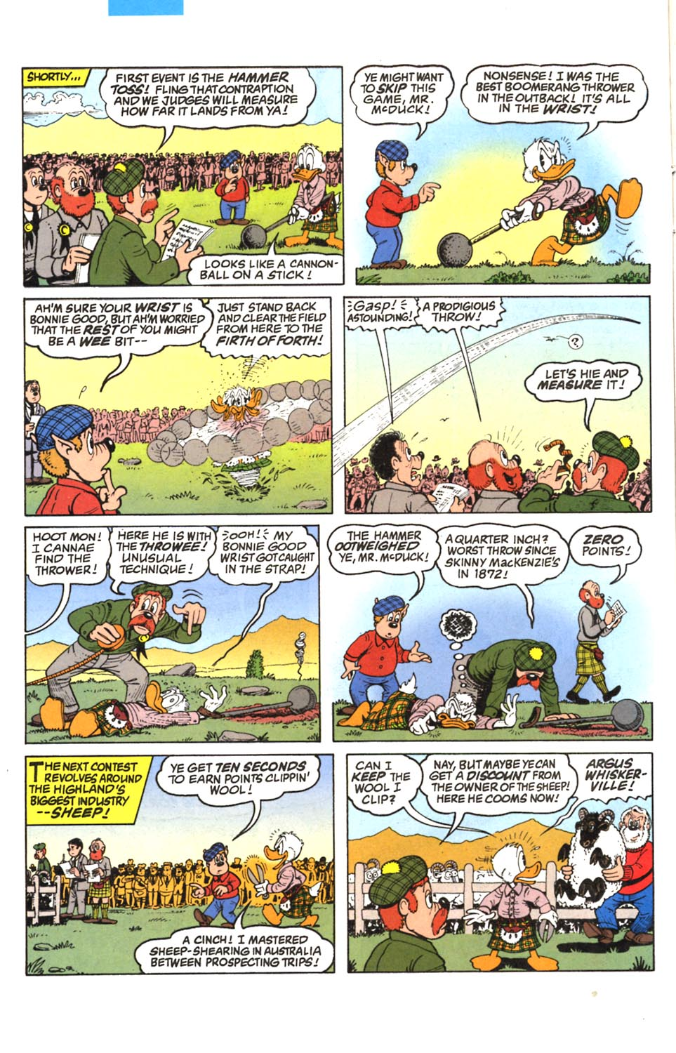 Read online Uncle Scrooge (1953) comic -  Issue #293 - 9