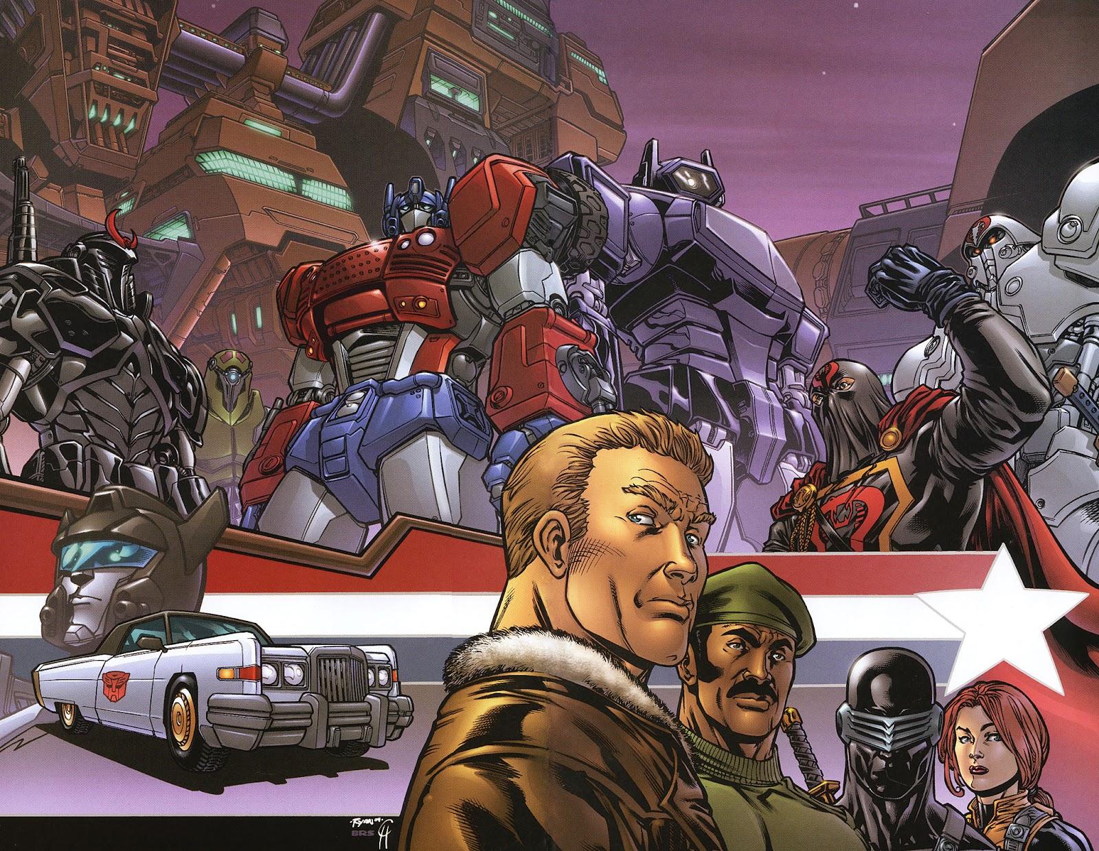 G.I. Joe vs. The Transformers II Issue #0 #1 - English 18