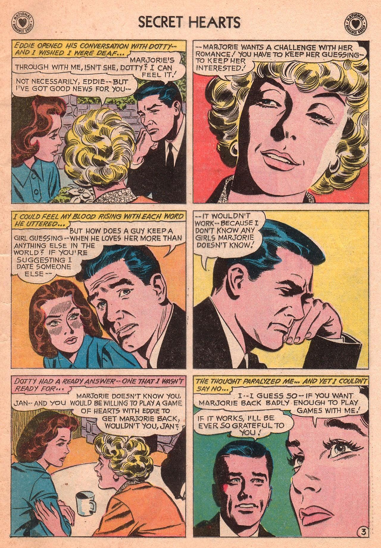 Read online Secret Hearts comic -  Issue #77 - 5