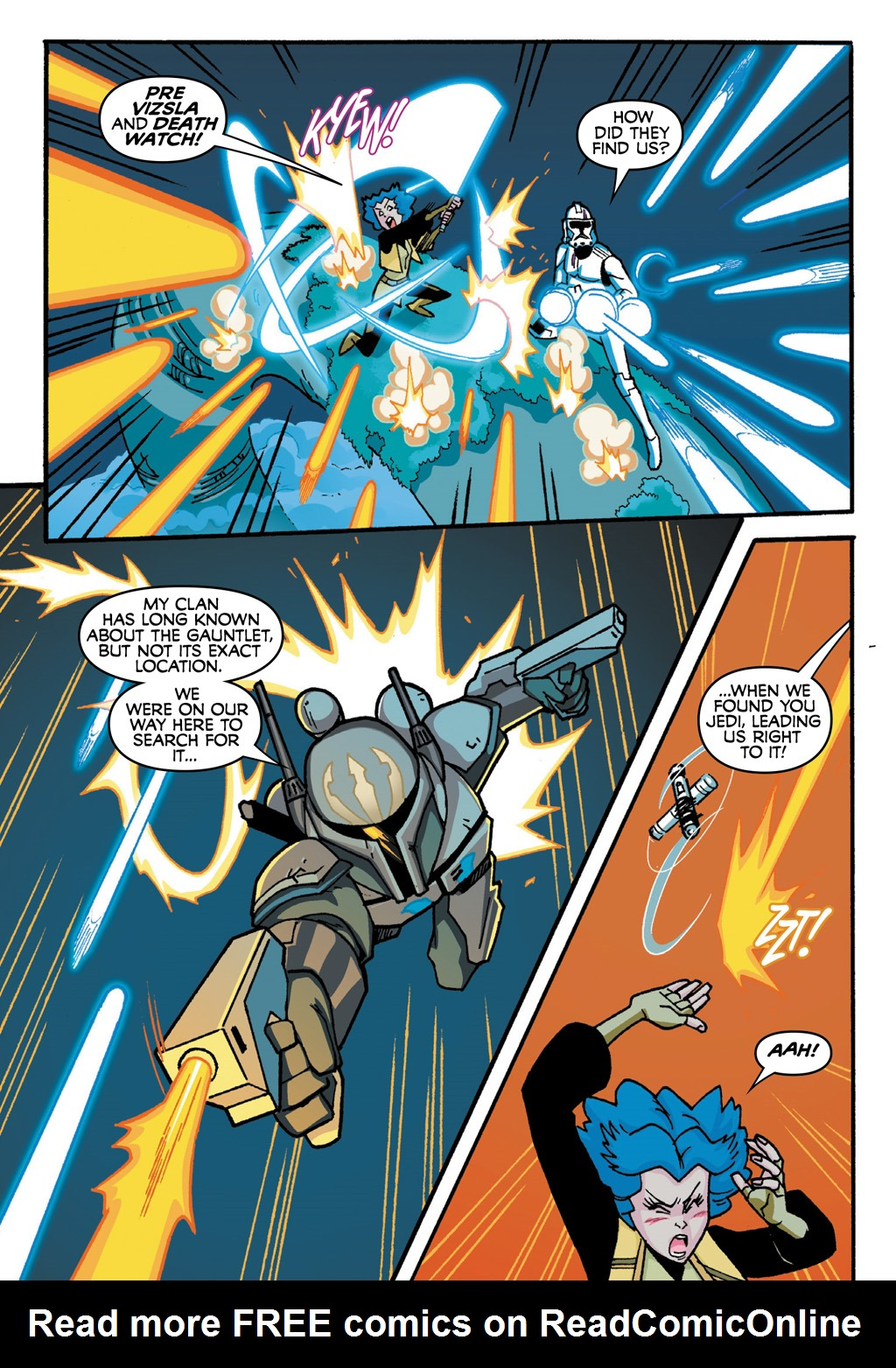 Read online Star Wars: The Clone Wars - Defenders of the Lost Temple comic -  Issue # Full - 48