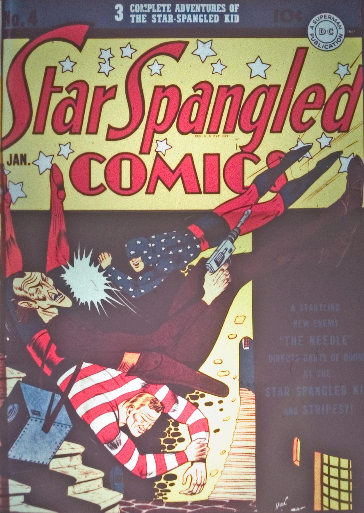 Star Spangled Comics (1941) 4 Page 1