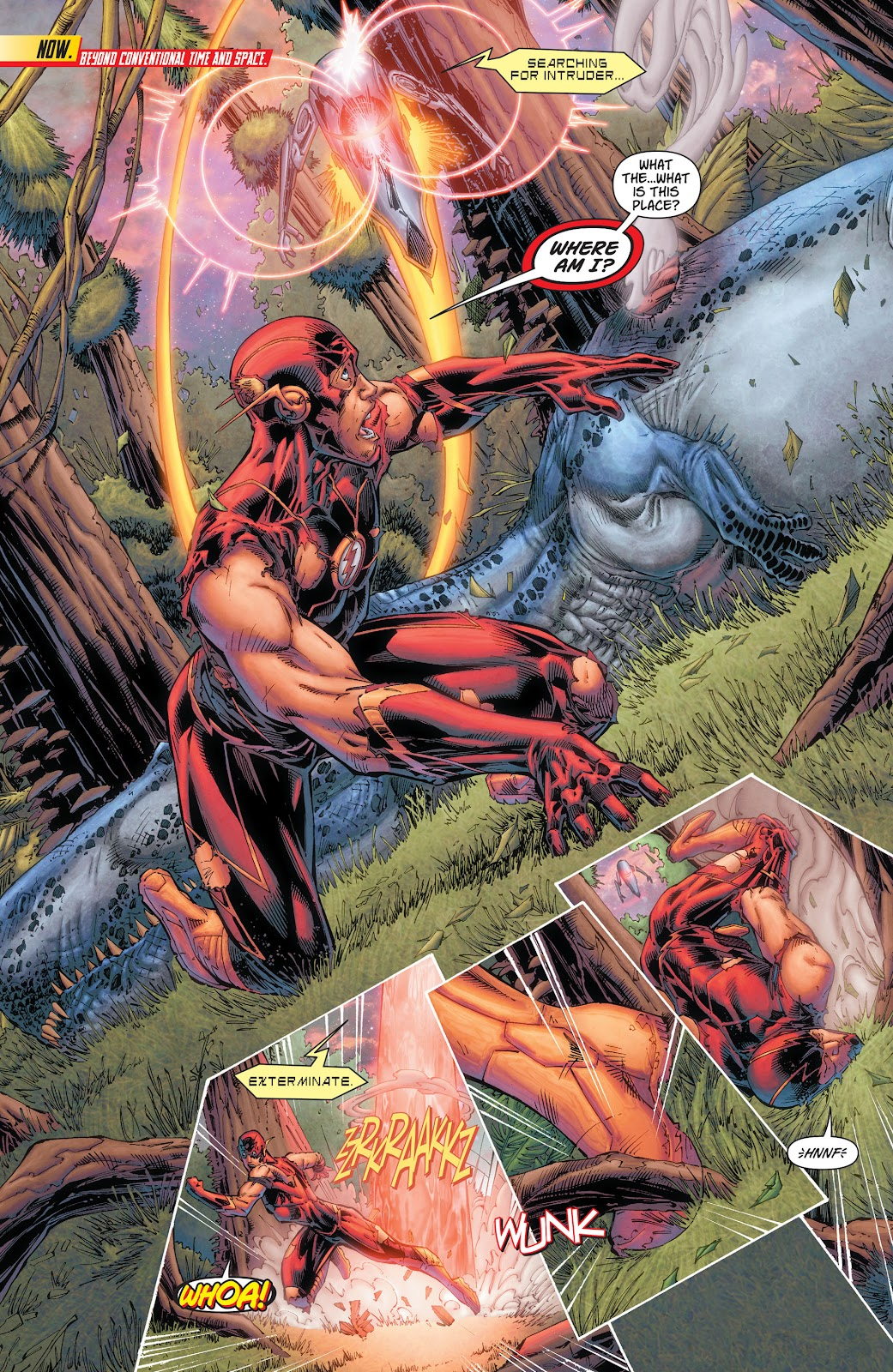 Read online The Flash (2011) comic -  Issue # _TPB 7 - 7