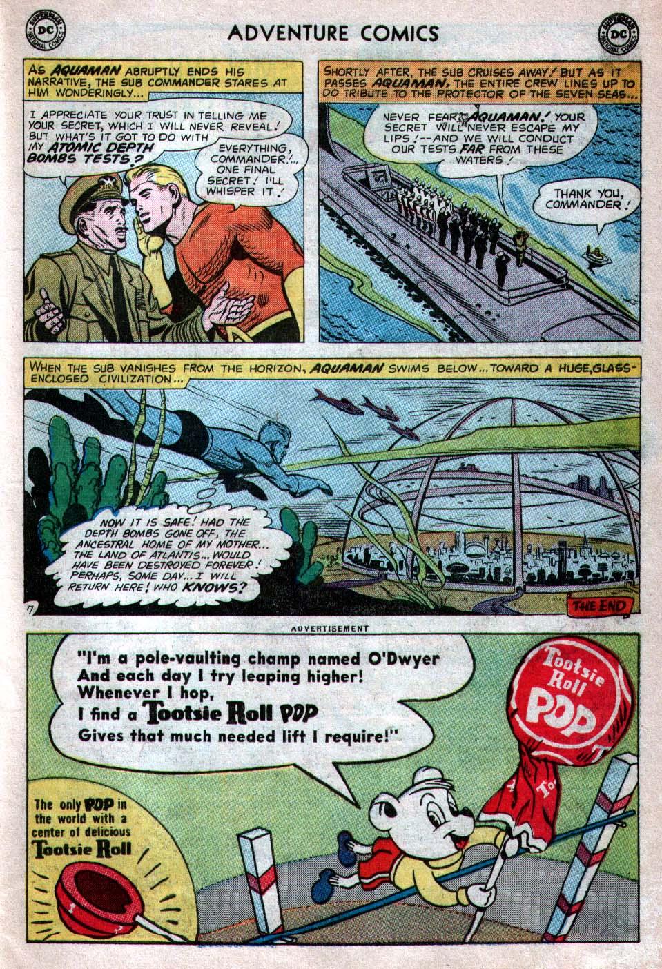 Read online Adventure Comics (1938) comic -  Issue #260 - 23