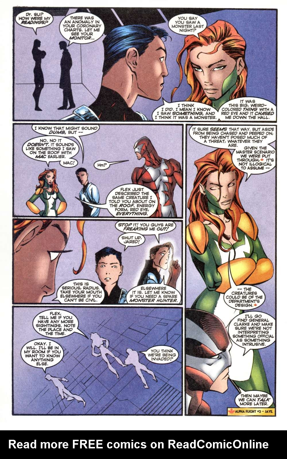 Read online Alpha Flight (1997) comic -  Issue #7 - 12
