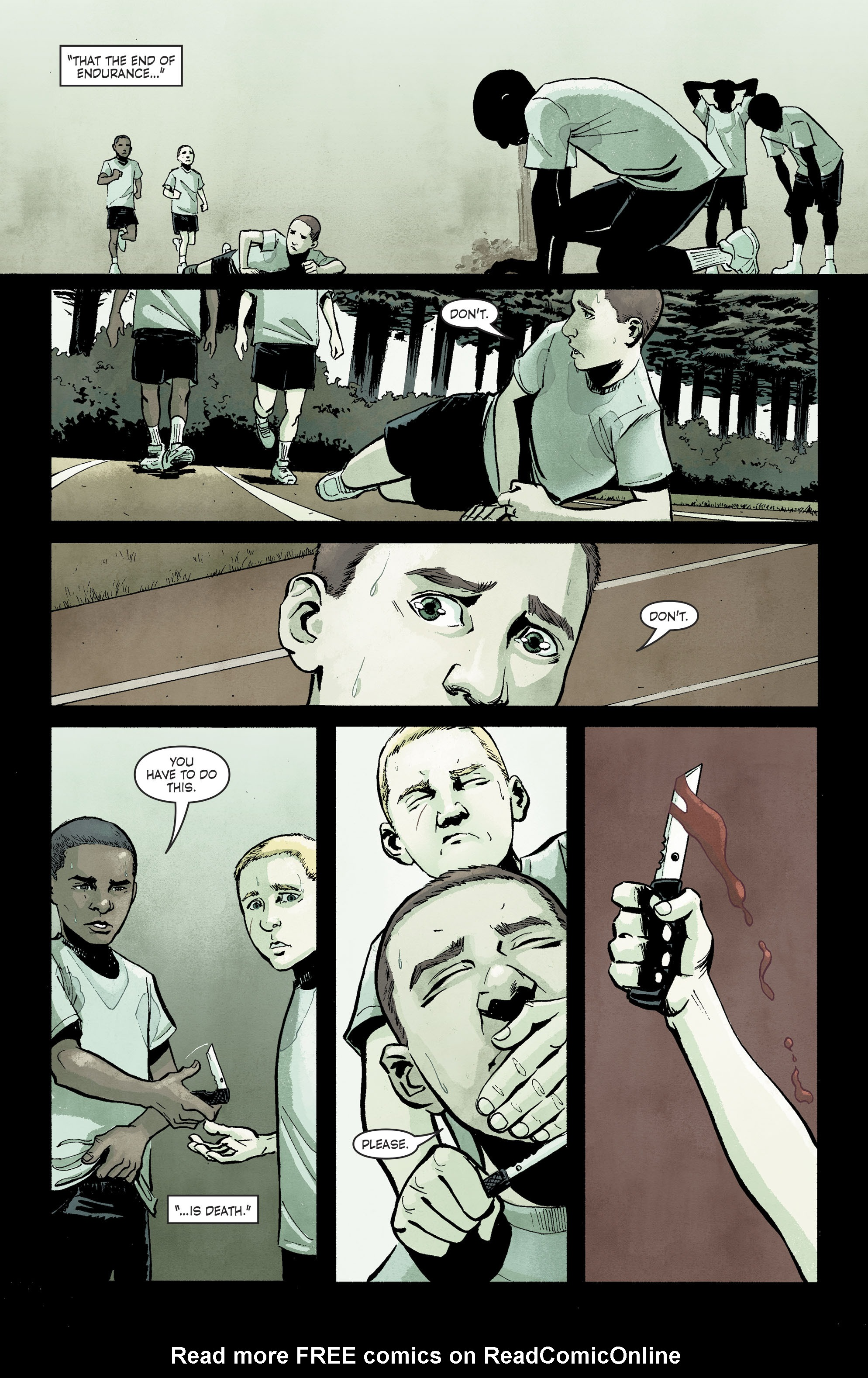 Read online Savage Things comic -  Issue #3 - 3