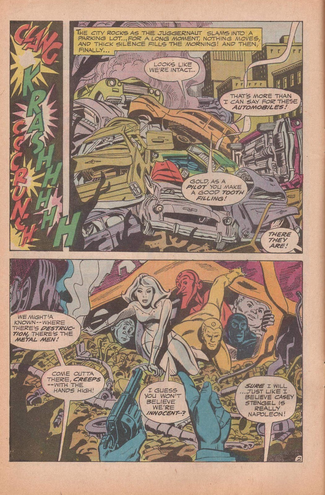Metal Men (1963) issue 37 - Page 4
