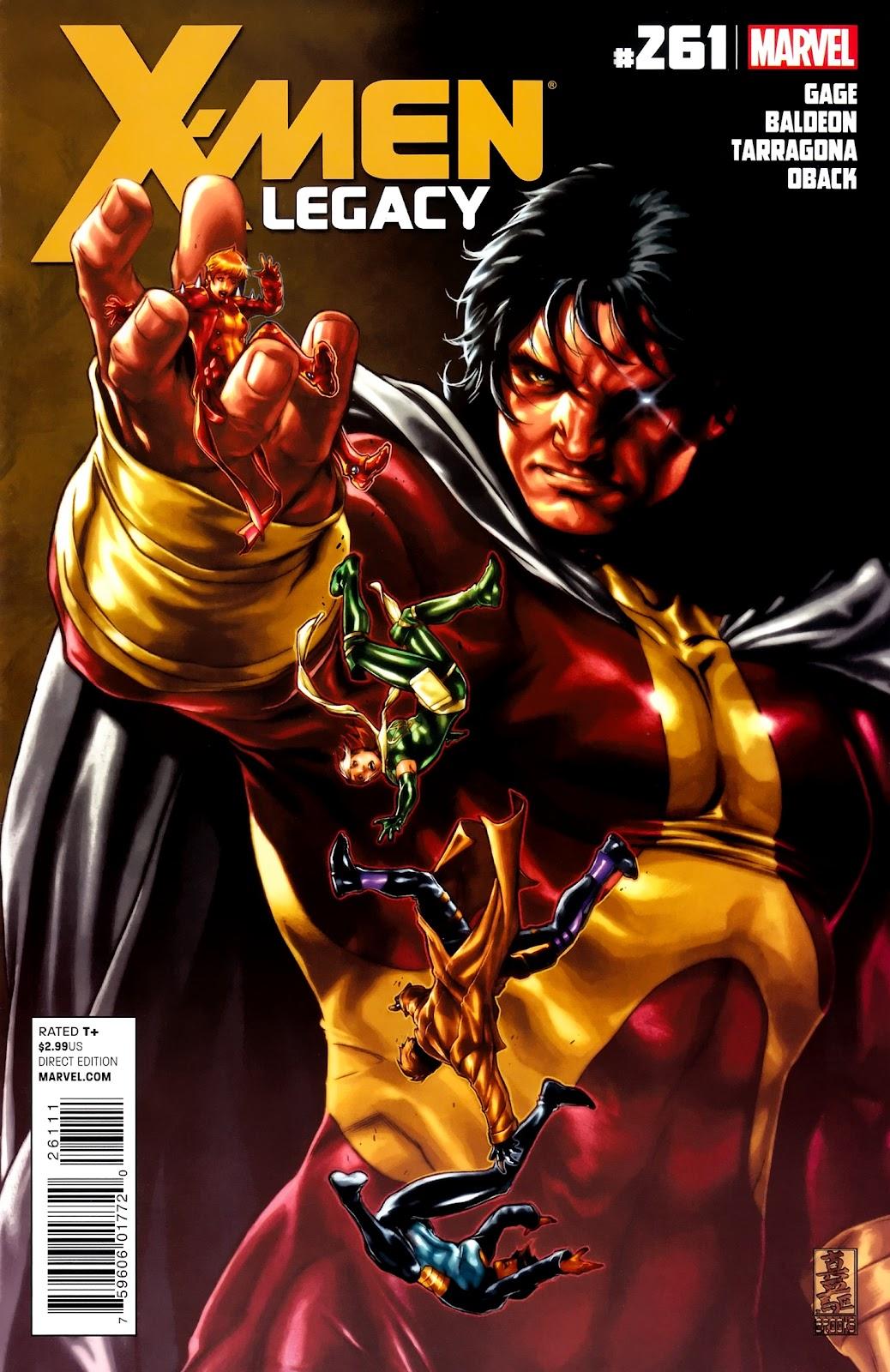 X-Men Legacy (2008) 261 Page 1