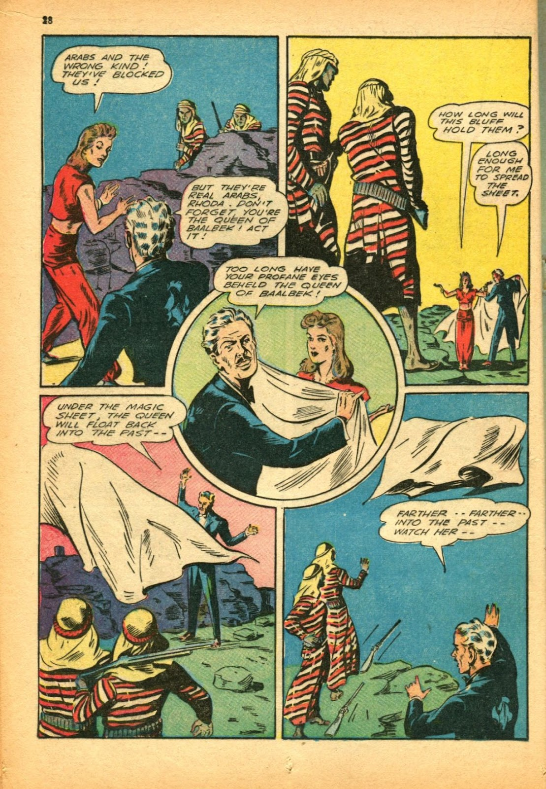 Read online Super-Magician Comics comic -  Issue #12 - 28