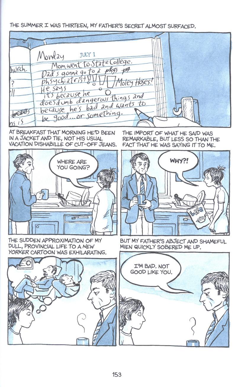 Read online Fun Home: A Family Tragicomic comic -  Issue # TPB - 159