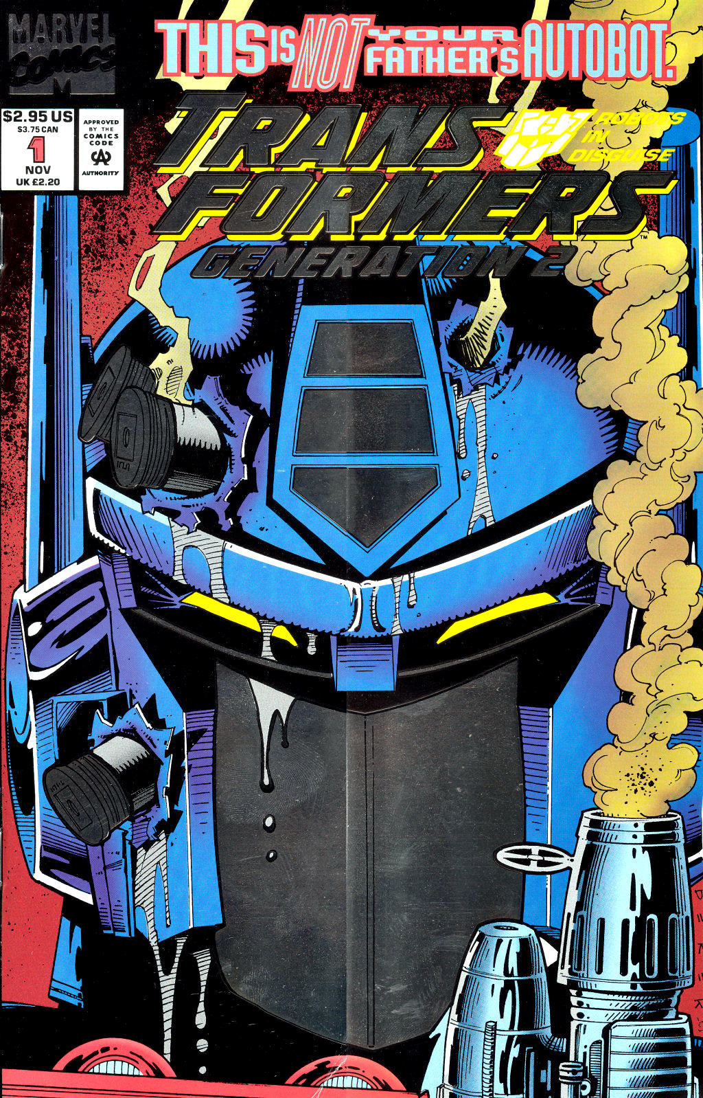 Read online Transformers: Generation 2 comic -  Issue #1 - 1