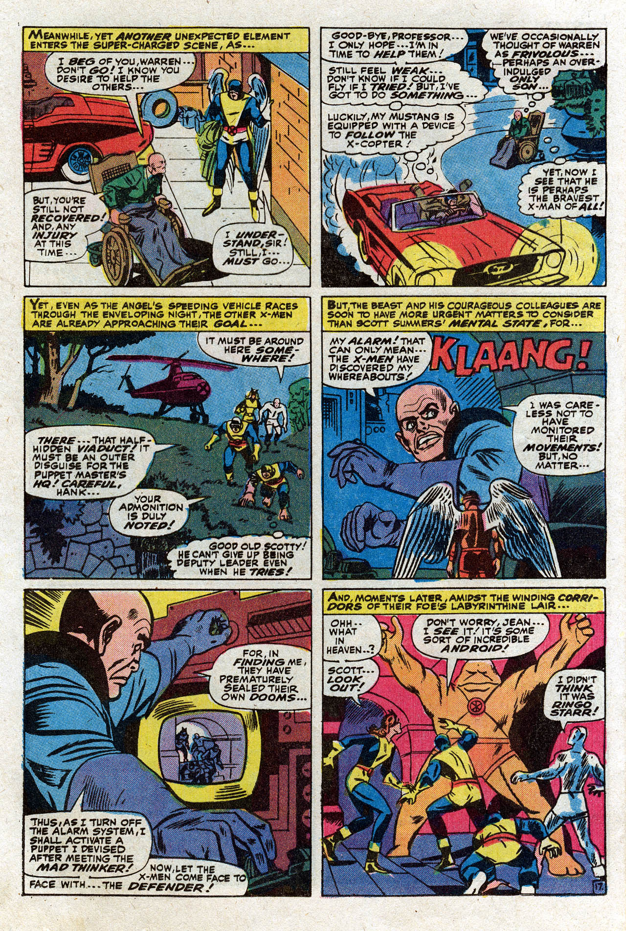 Read online Uncanny X-Men (1963) comic -  Issue #75 - 23