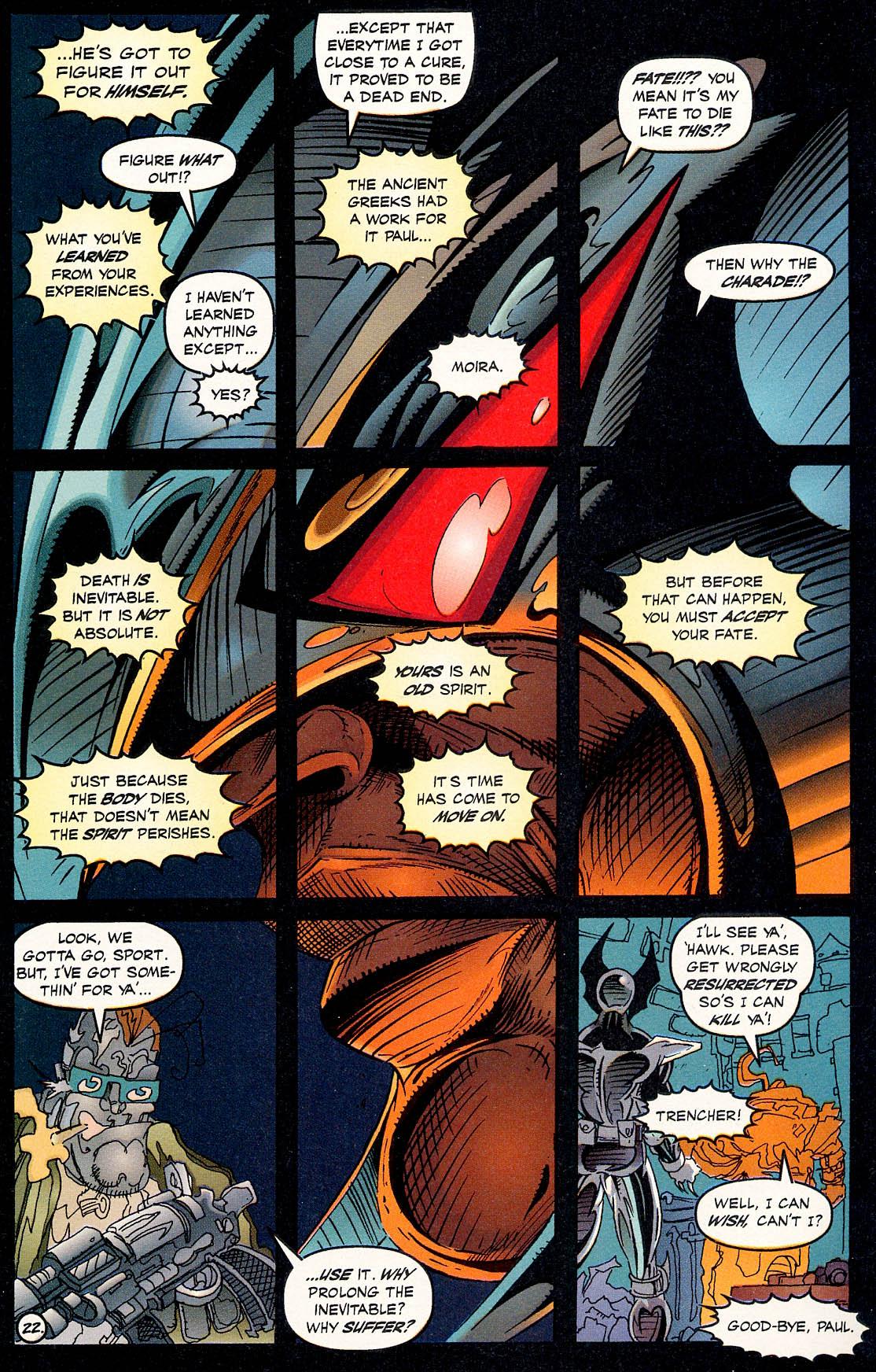 Read online ShadowHawk comic -  Issue #17 - 21