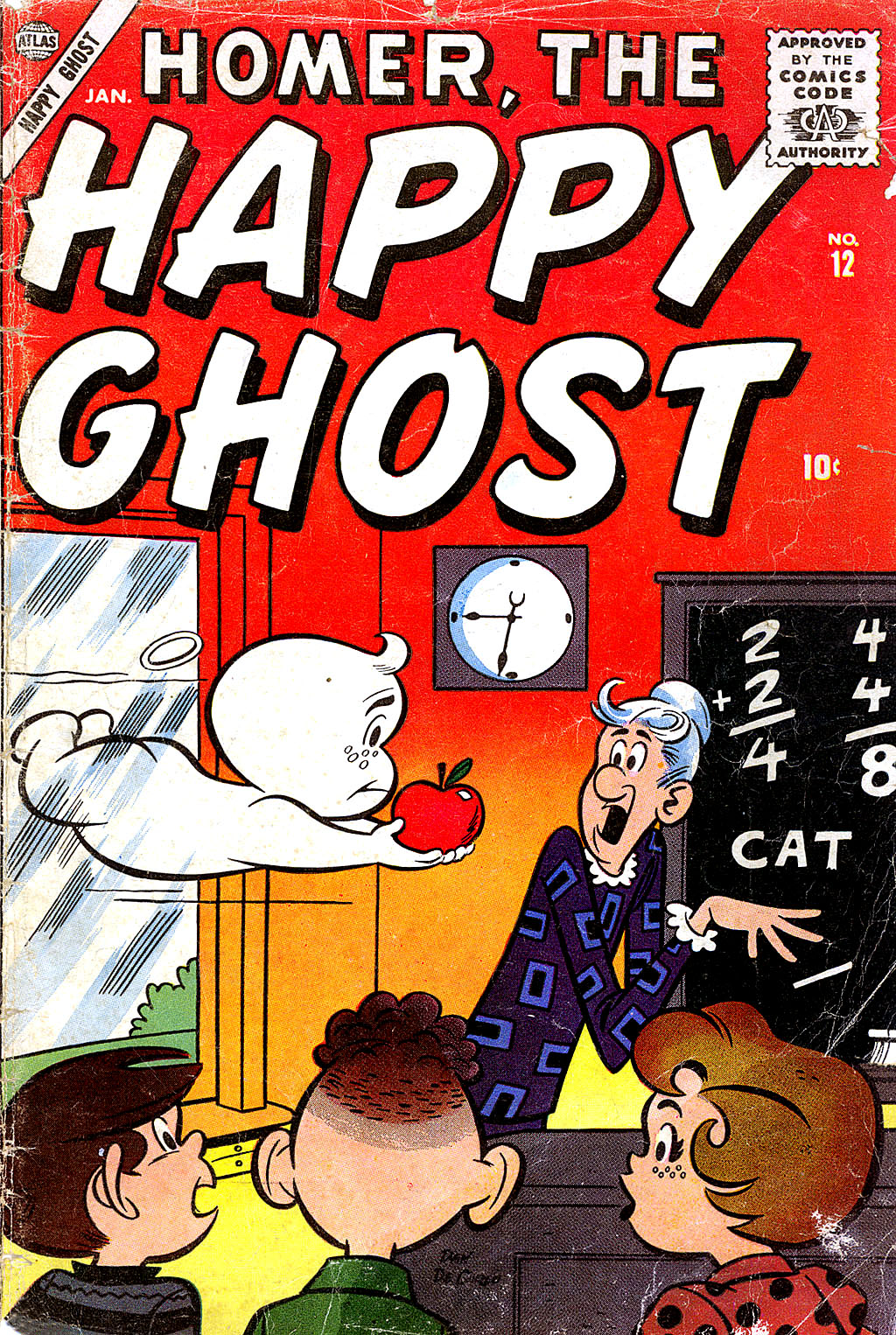 Homer, the Happy Ghost 12 Page 1