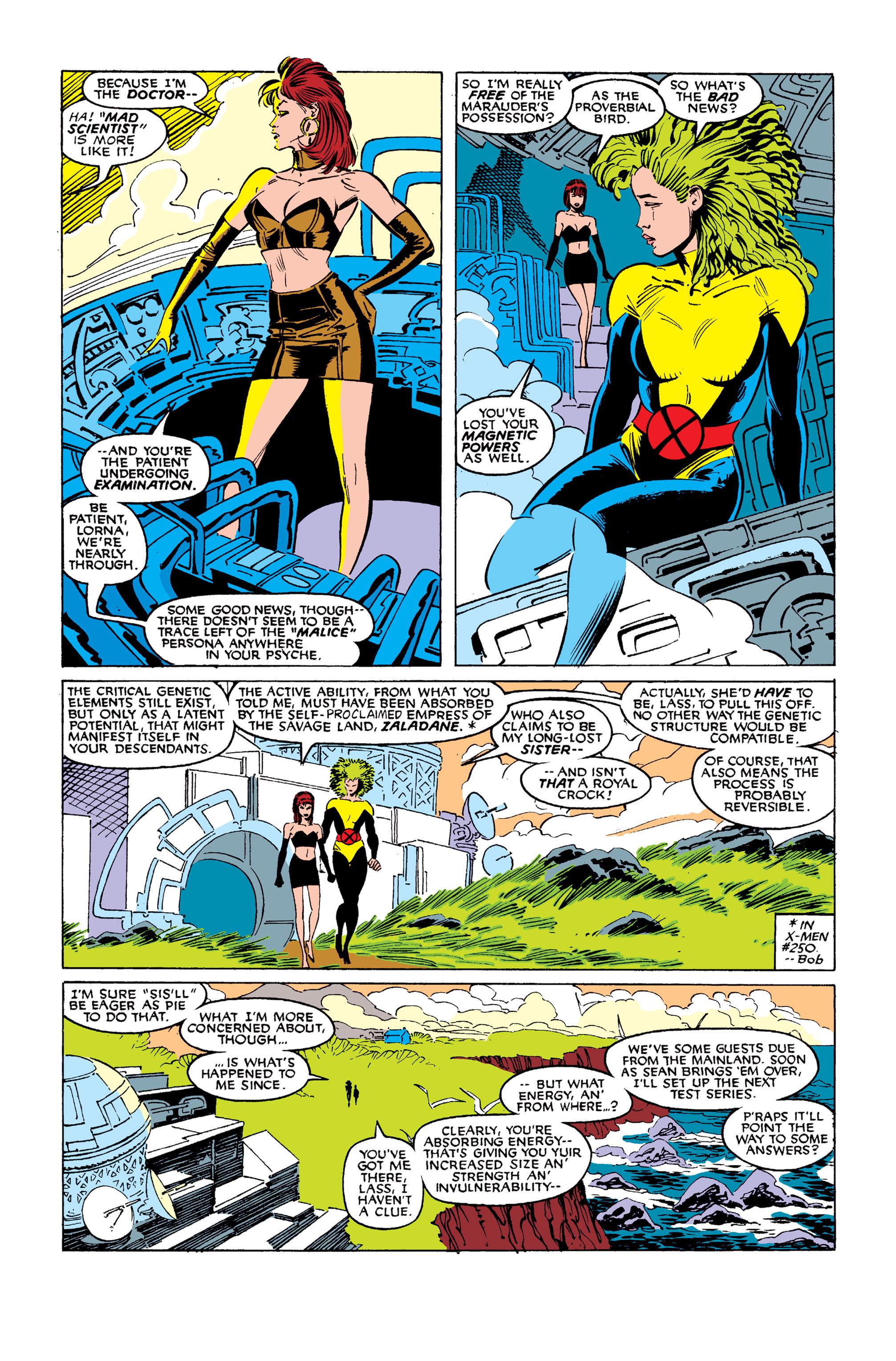 Read online Uncanny X-Men (1963) comic -  Issue #254 - 3