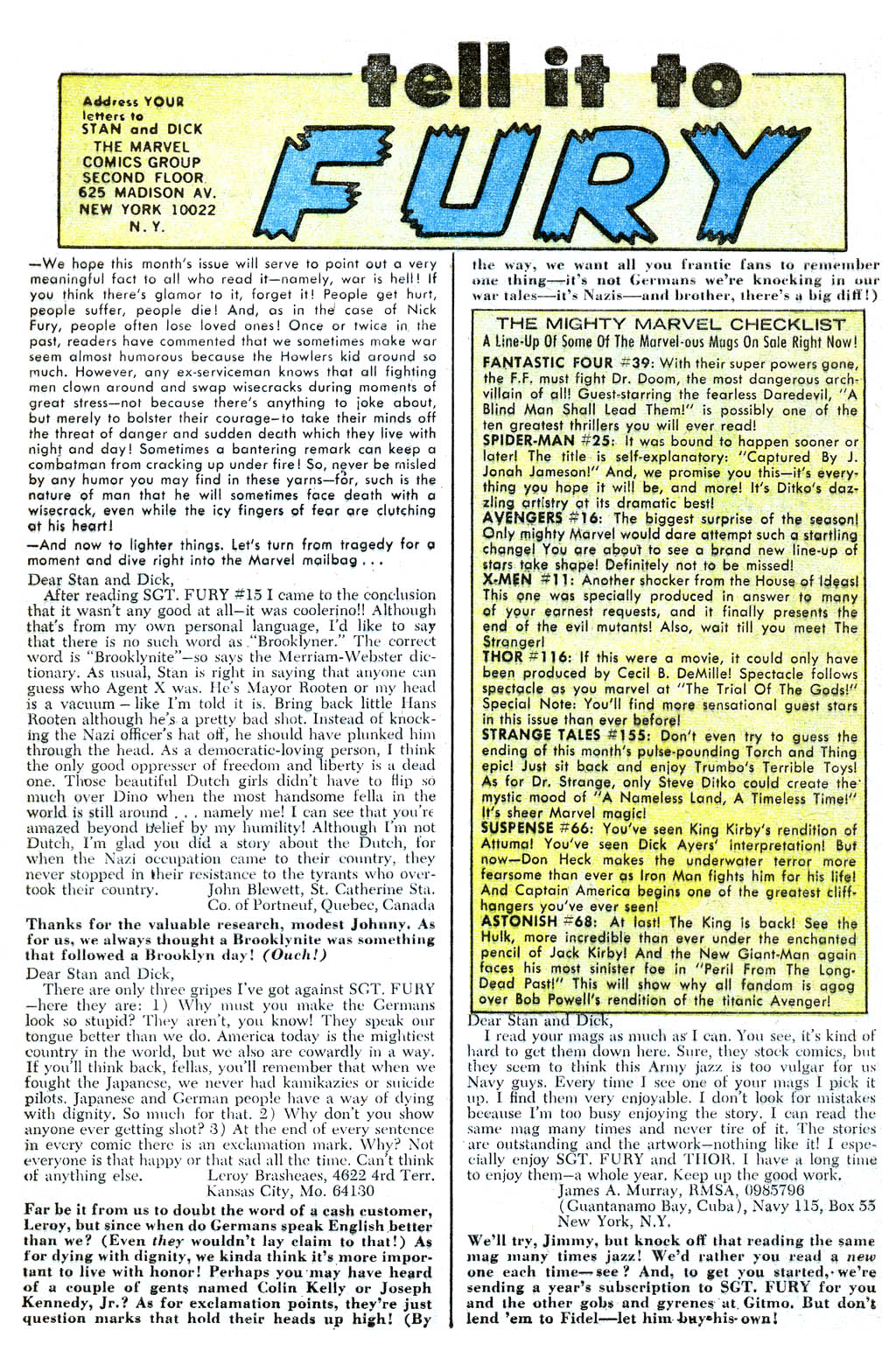 Read online Sgt. Fury comic -  Issue #18 - 32