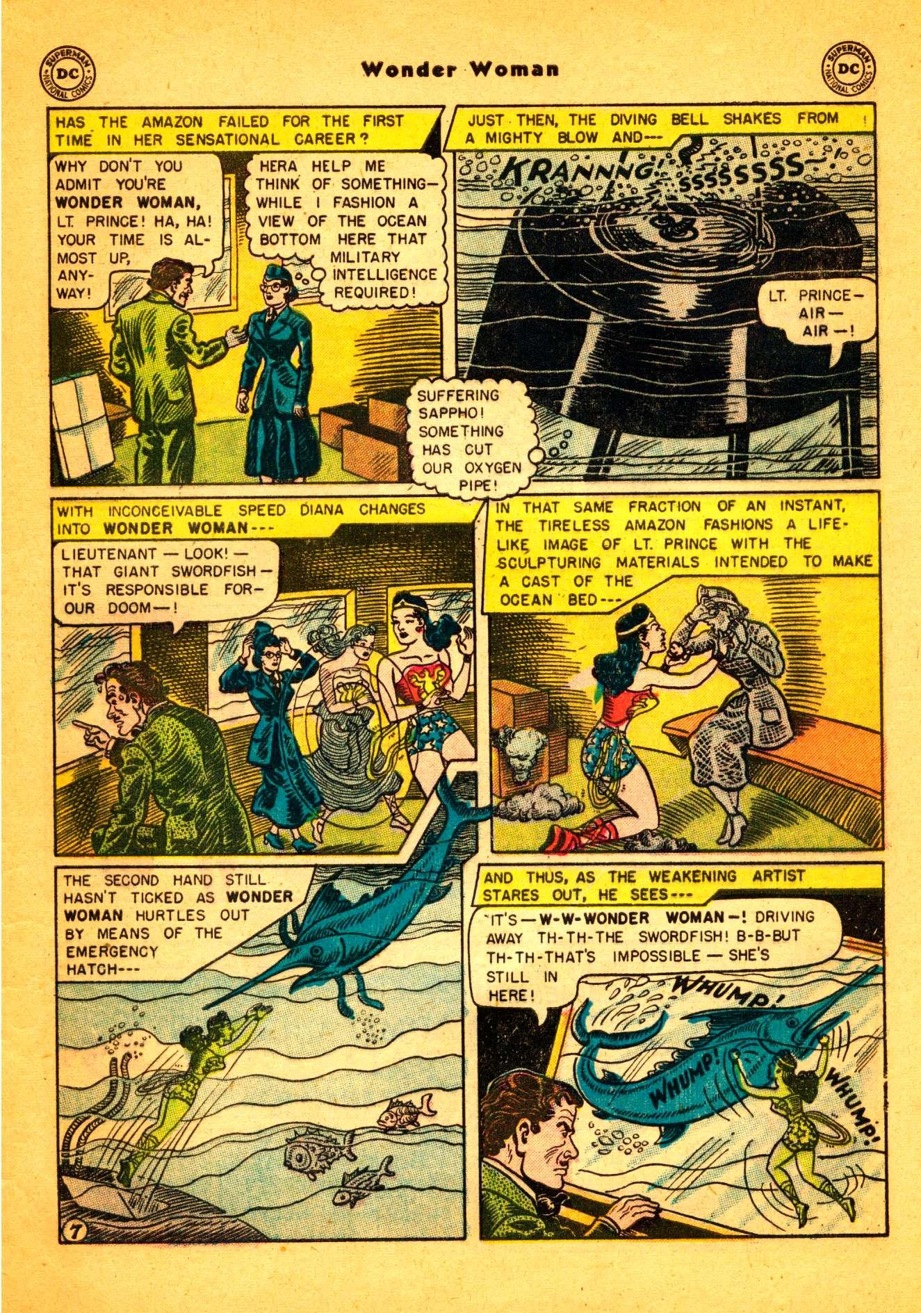 Read online Wonder Woman (1942) comic -  Issue #86 - 8