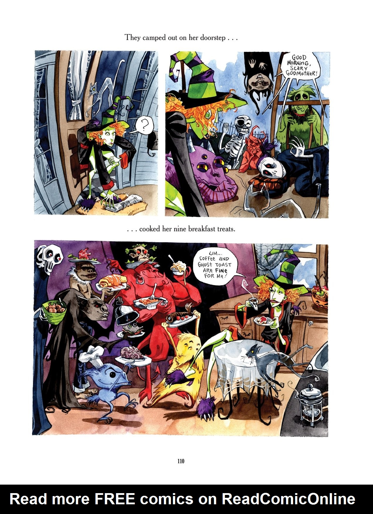 Read online Scary Godmother comic -  Issue # TPB - 110