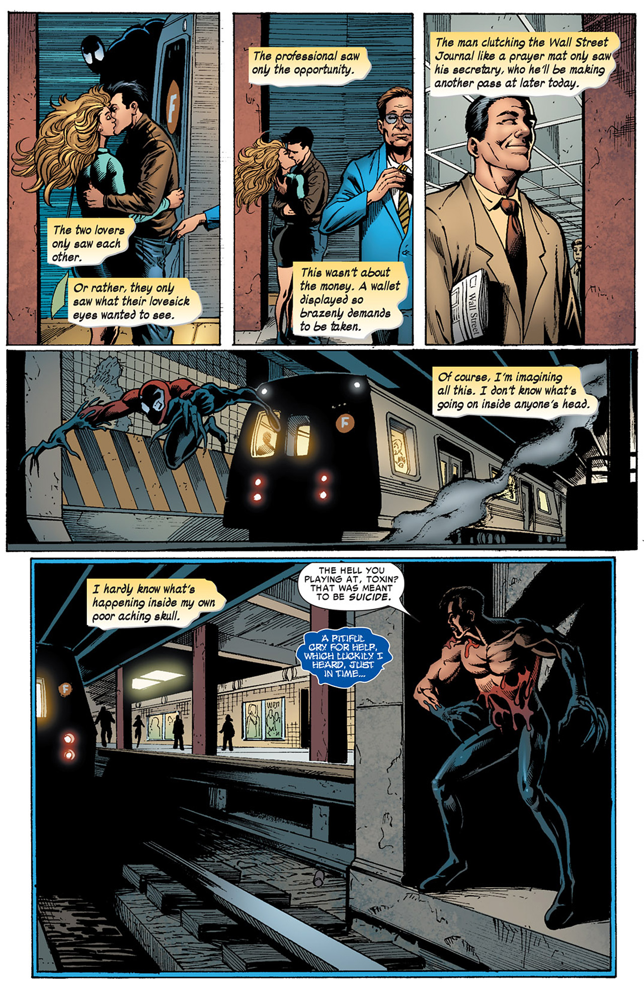 Read online Toxin comic -  Issue #4 - 3
