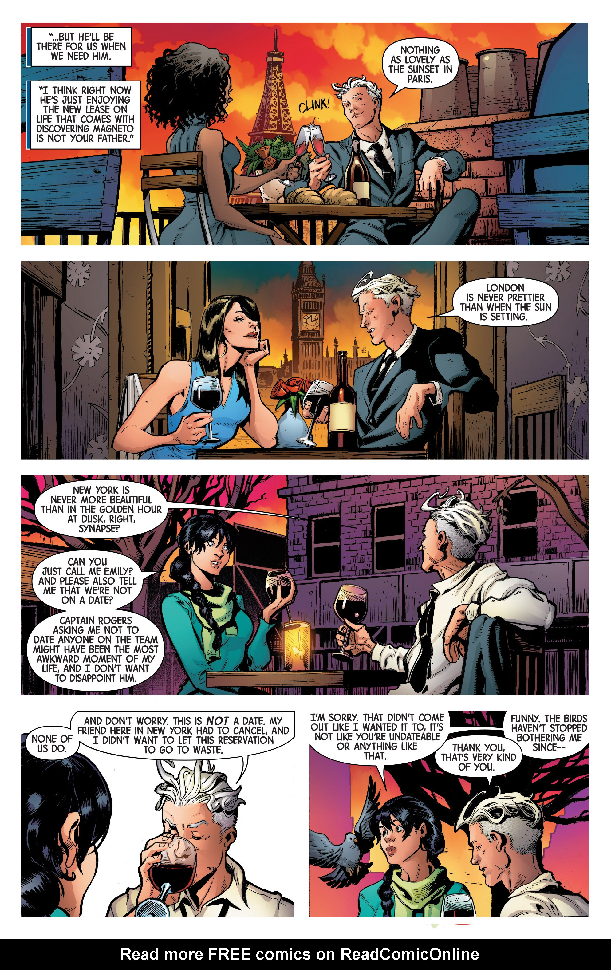 Read online Uncanny Avengers [II] comic -  Issue #1 - 25