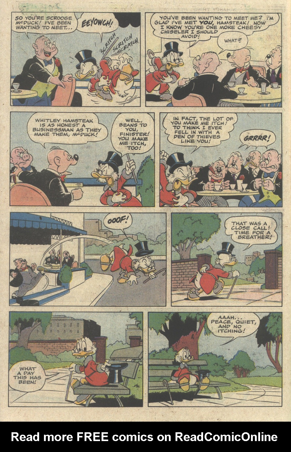 Read online Uncle Scrooge (1953) comic -  Issue #235 - 30