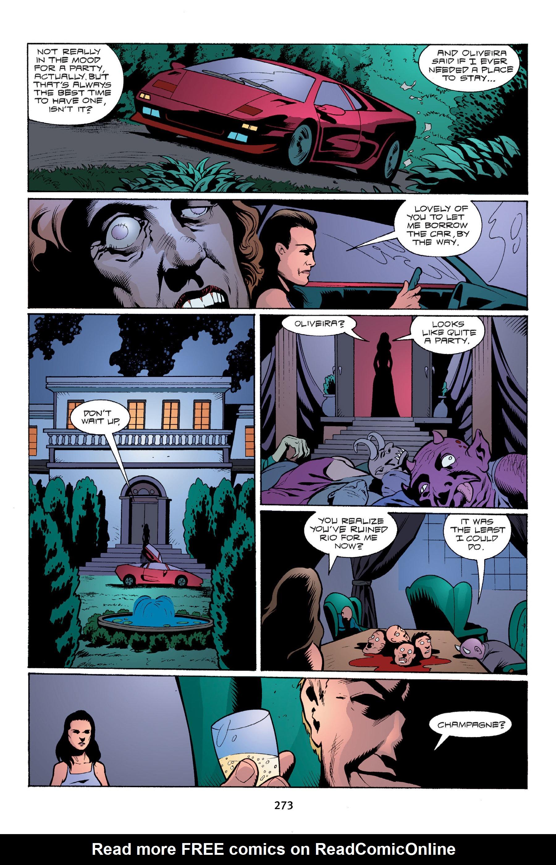 Read online Buffy the Vampire Slayer: Omnibus comic -  Issue # TPB 4 - 271