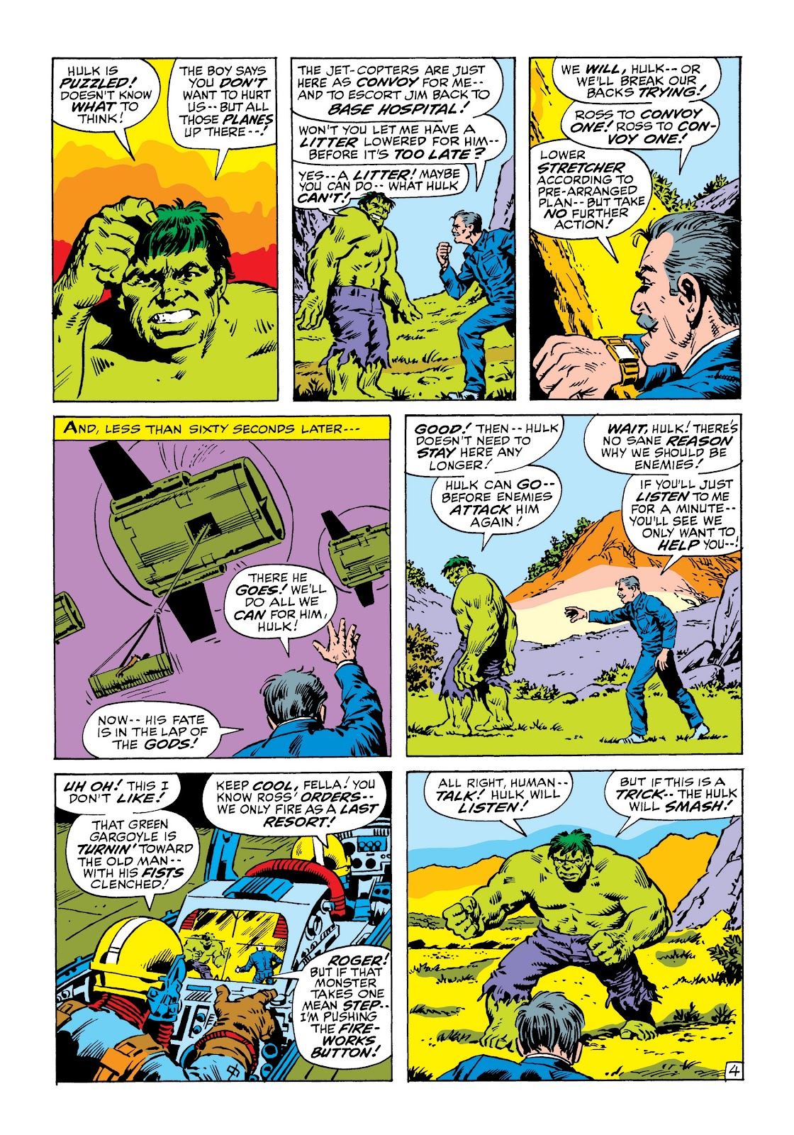Read online Marvel Masterworks: The Incredible Hulk comic -  Issue # TPB 6 (Part 3) - 38