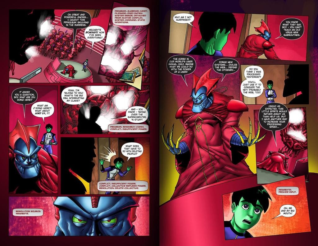 Read online ReBoot: Paradigms Lost comic -  Issue # Full - 28
